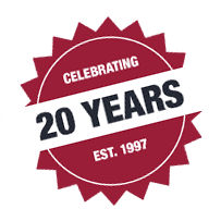 Celebrating 20 Years - EST. 1997