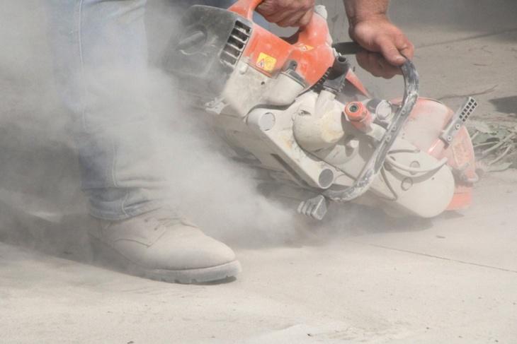 Dust in workplace