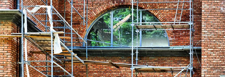 Health and safety advice for building restoration