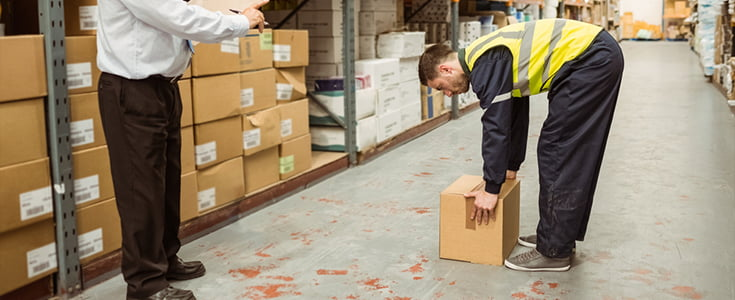Manual Handling Training at Browns Ladders
