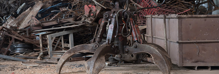 scrap yard equipment