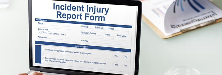 accident and injury reporting