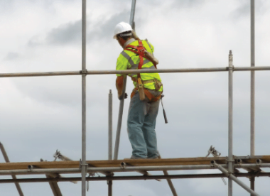 work at height safety harness)