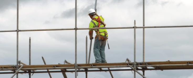 work at height safety harness