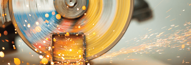 abrasive wheel sparks
